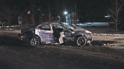 Accident à St-Isidore
