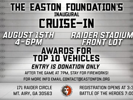 The Easton Foundation Announces the Inaugural Cruise In Event