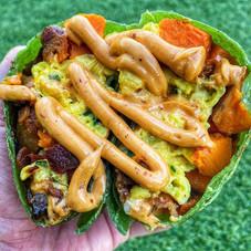 A balanced diet is a breakfast burrito i