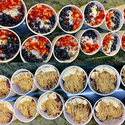 Acai Bowl Catering. Contact us for all c
