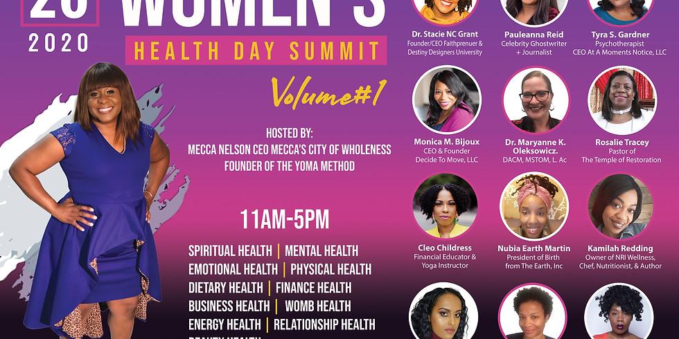 THE YOMA METHOD PRESENTS WOMEN'S HEALTH DAY SUMMIT VOLUME #1