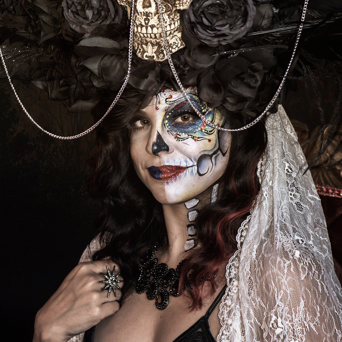 Day of the Dead Portrait Art