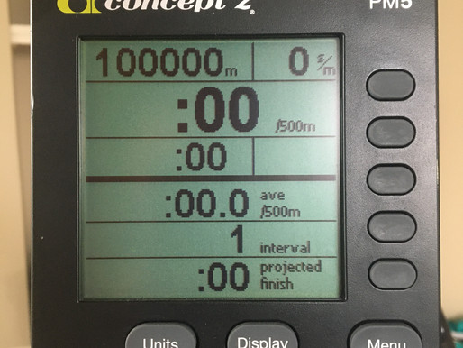 Five Things I Did To Complete The 100K Ultra Erg