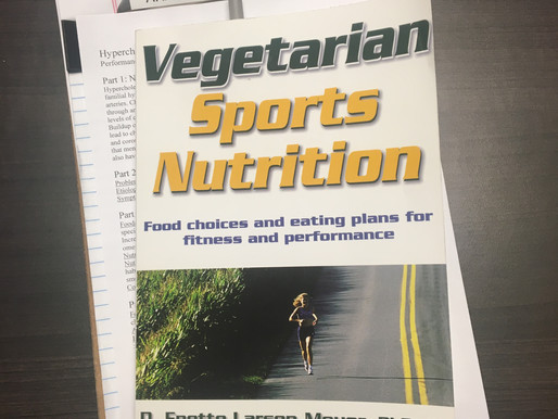 Book Review: Vegetarian Sports Nutrition by D. Enette Larson-Meyer, PhD, RD