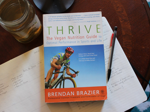 Book Review: Thrive by Brendan Brazier