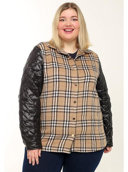 Женская  двойная куртка.