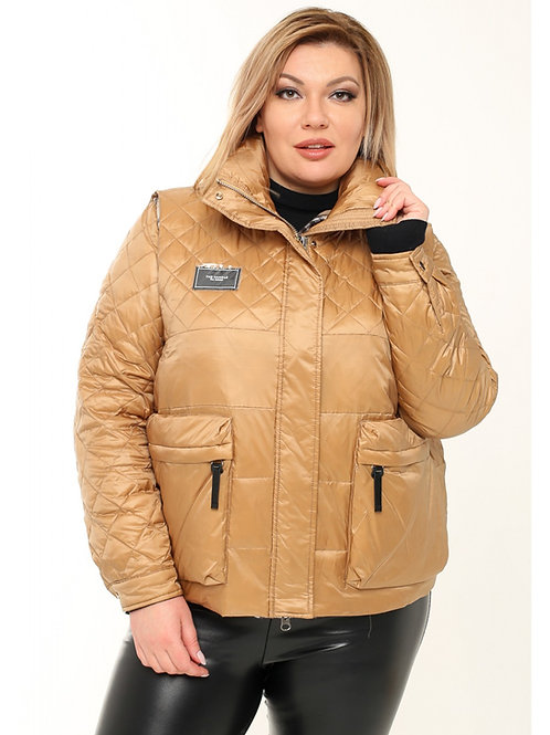 Женская двойная куртка
