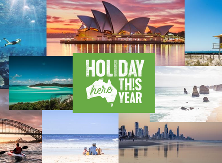 Australia Recovery Campaign #holidayherethisyear