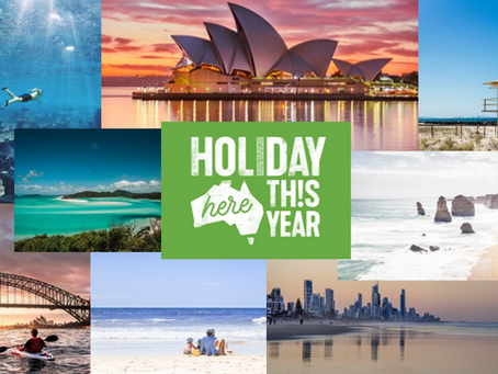 Australia Recovery Campaign #holidayherethisyear