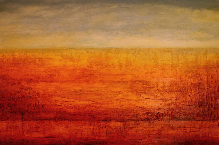 """Coyote Canyon 40 x 60"""" - sold"""