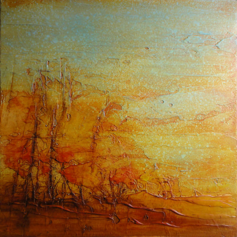 "Autumn Study II 10 x 10"" - sold"