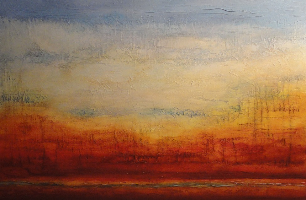"Mescal Mountains 36 x 60"" - sold"