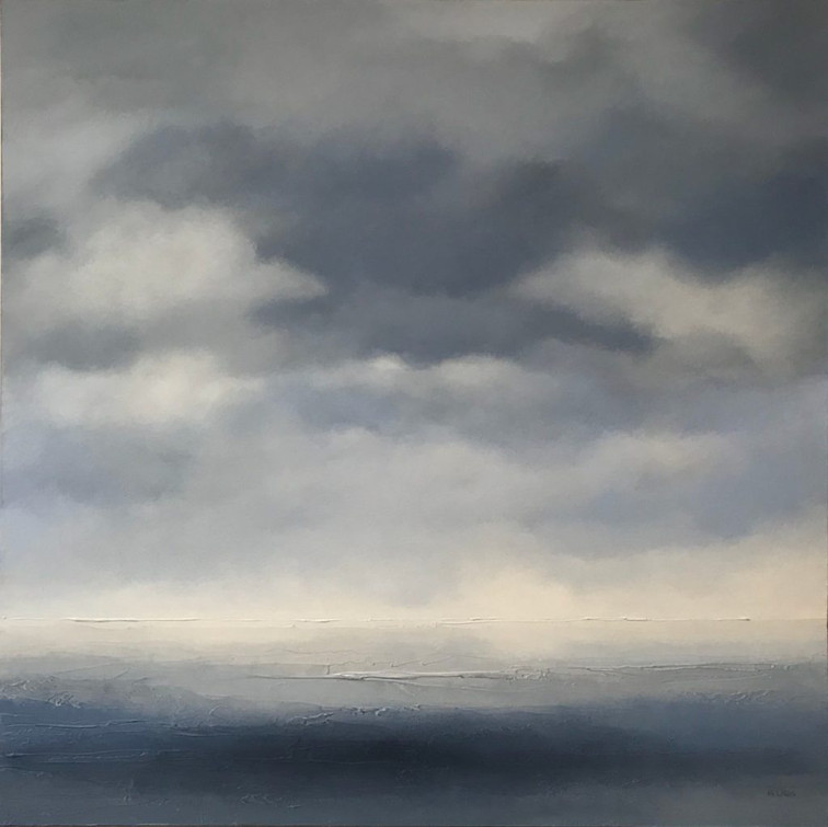 """Seclusion 36 x 36"""" - sold"""