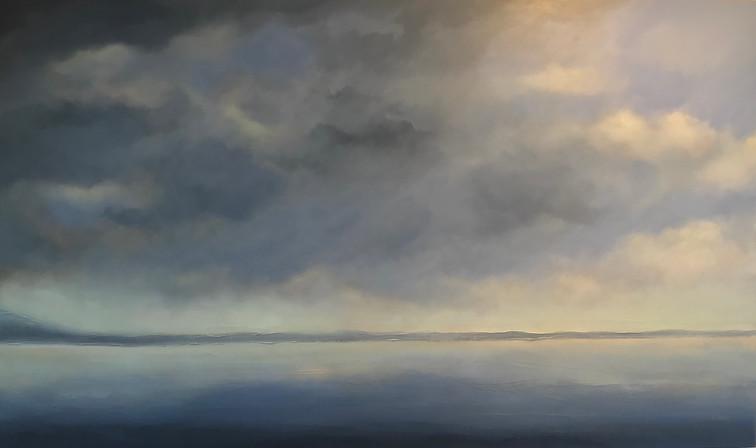 """Lake of Bays  36 x 60"""""""