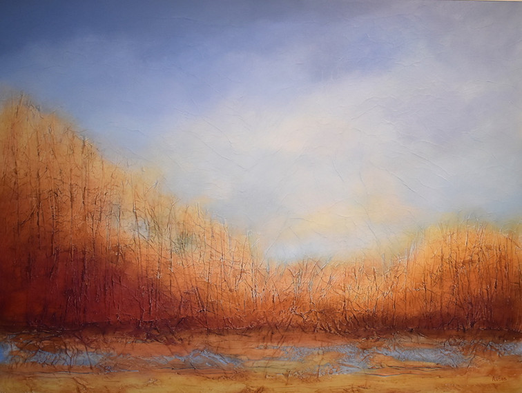 """Pleasure in the Pathless Woods 36 x 48"""""""