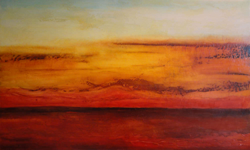 "Remembering Sedona 30 x 60"" - sold"