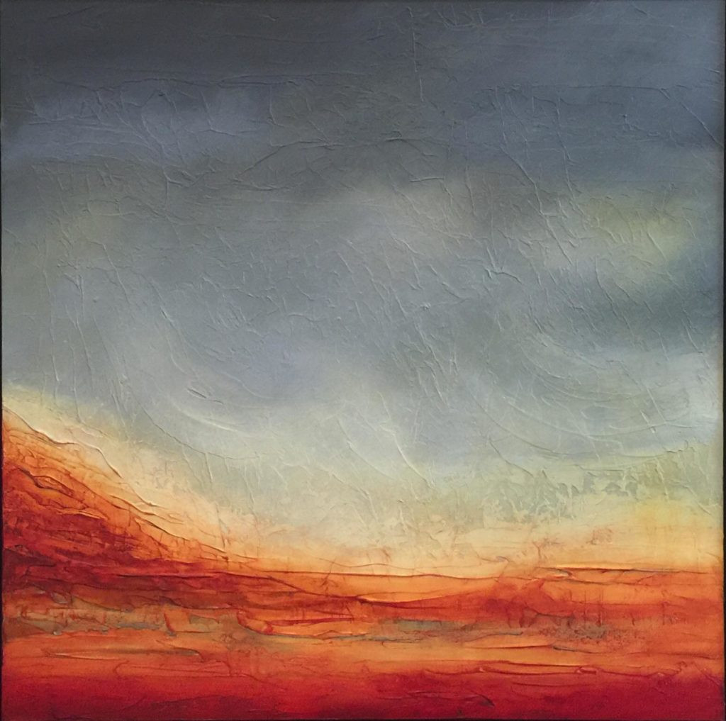 Red Mountain Mirage 30 x 30""
