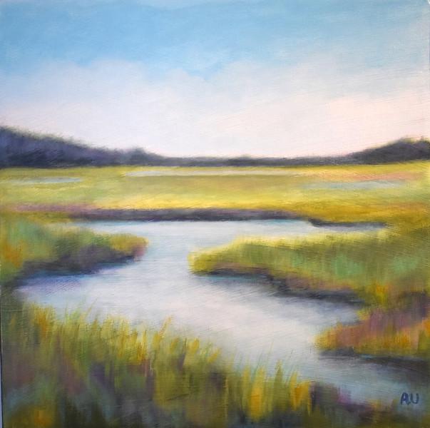 """Lanark Wetlands 12 x 12"""" - sold"""