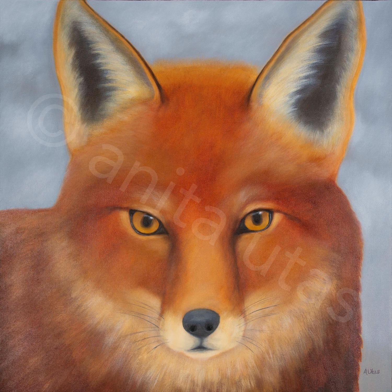 """The Dreamer 30 x 30"""" - acrylic on canvas"""