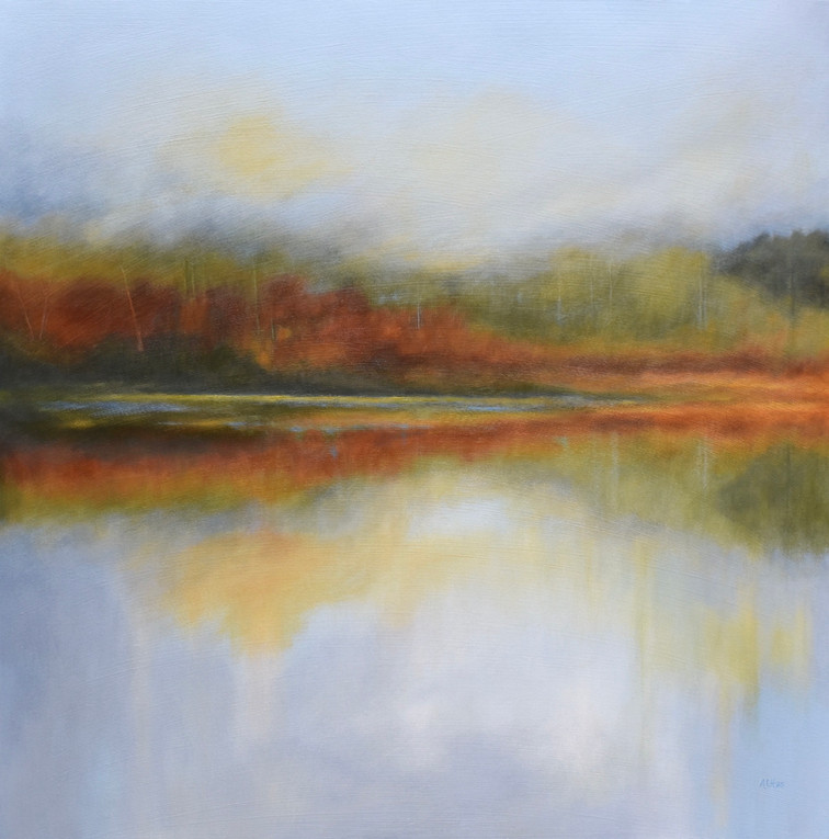 """Forest Lake 36"""" x 36"""""""