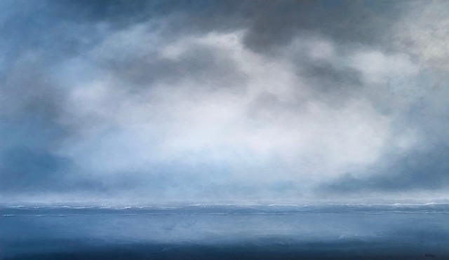 Rising Mist, Lifting Clouds 36 x 60""
