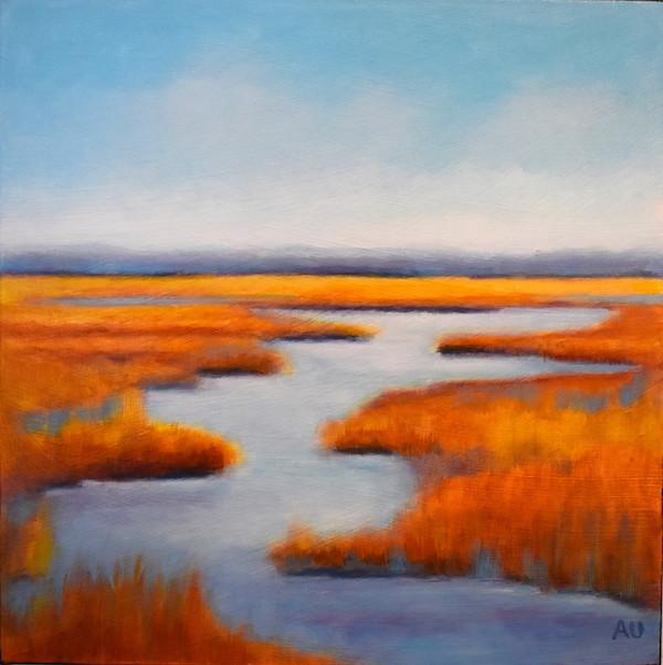"Poole Creek Wetlands 12 x 12"""
