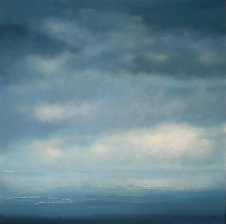 """Sound of Sea Waves 48 x 48"""""""