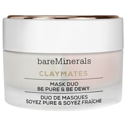 BARE MINERALS ClayMates Mask Duo: Be Pure & Be Dewy