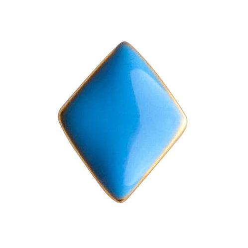 LULU COPENHAGEN Confetti Øredobb Lys blå