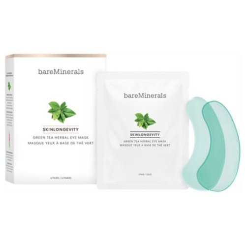 BARE MINERALS Skinlongevity Green Tea Herbal Eye Mask
