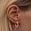 Thumbnail: LULU COPENHAGEN Color Hoops Rosa, medium