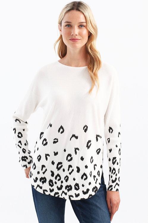 Charlie B - Animal Print Sweater