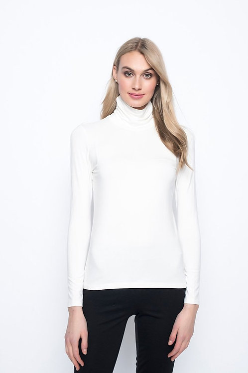 Picadilly - Long Sleeve Turtleneck Top