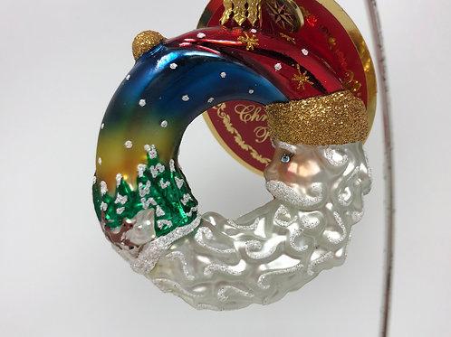 Christopher Radko - Santa's Silent Night Wreath
