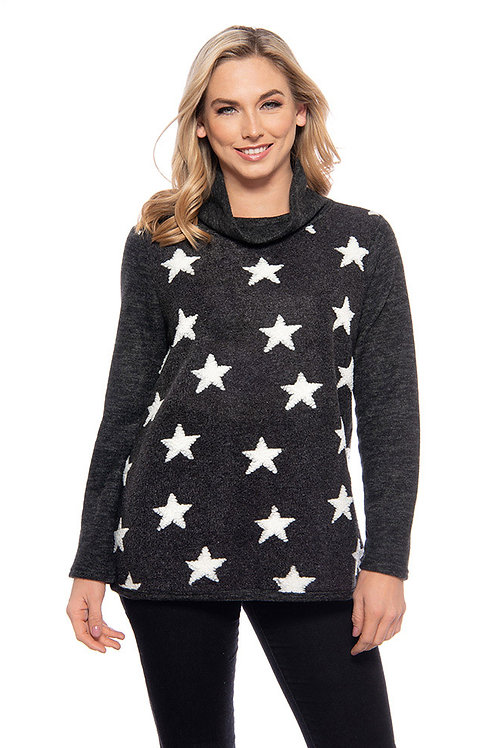 Trisha Tyler - Star Fleece Sweater