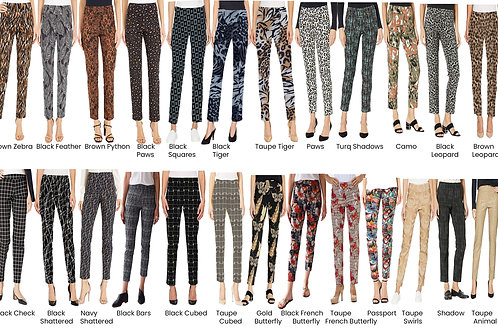 Krazy Larry - Print Ankle Pant