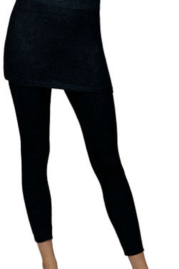 CatherineNLillywhite - Navy Skirt with Attached Leggings