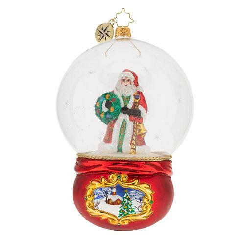 Christopher Radko - Santa's Snowy World