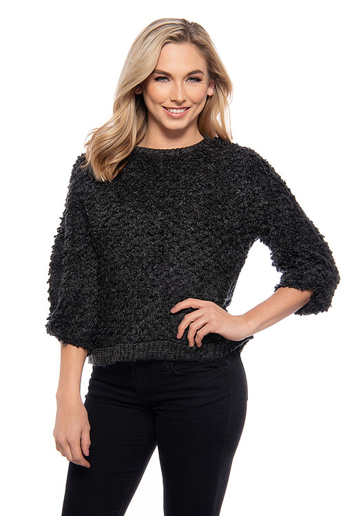 Trisha Tyler - Black Short Box Top