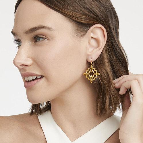 Julie Vos - Fleur-de-Lis Lace Earring
