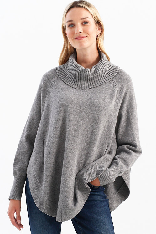Charlie B - Oversized Cowl Neck Sweater