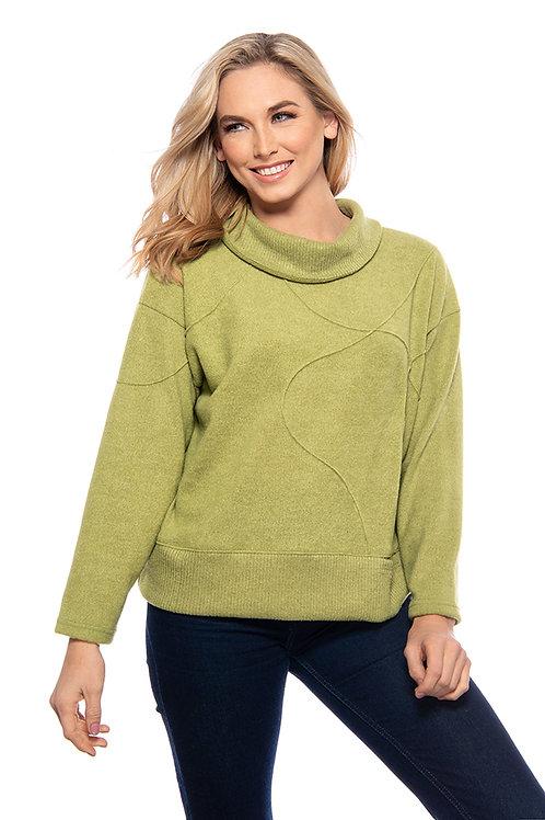 Trisha Tyler - Lime Sweater