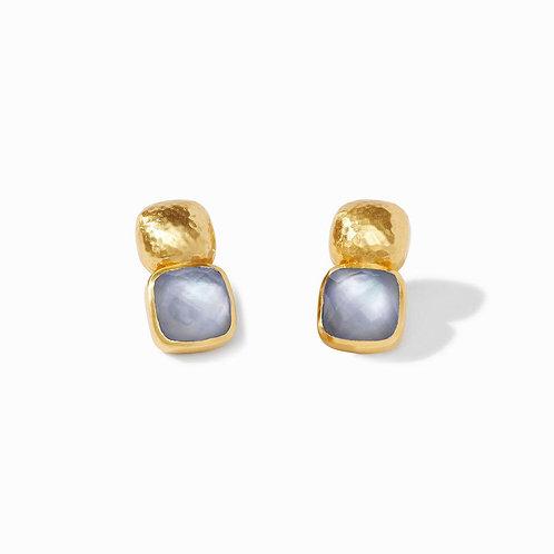 Julie Vos - Catalina Earring: Iridescent Slate Blue