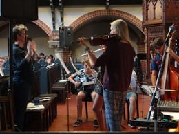 Konfi-Orchester: Gemeinde am Weinberg, Berlin-Mitte 2016