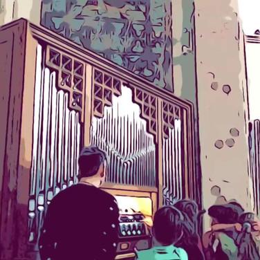 Organ + live-looping