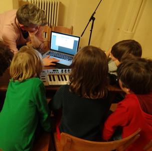 Composing: music technology