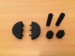 Prototyping the shell parts