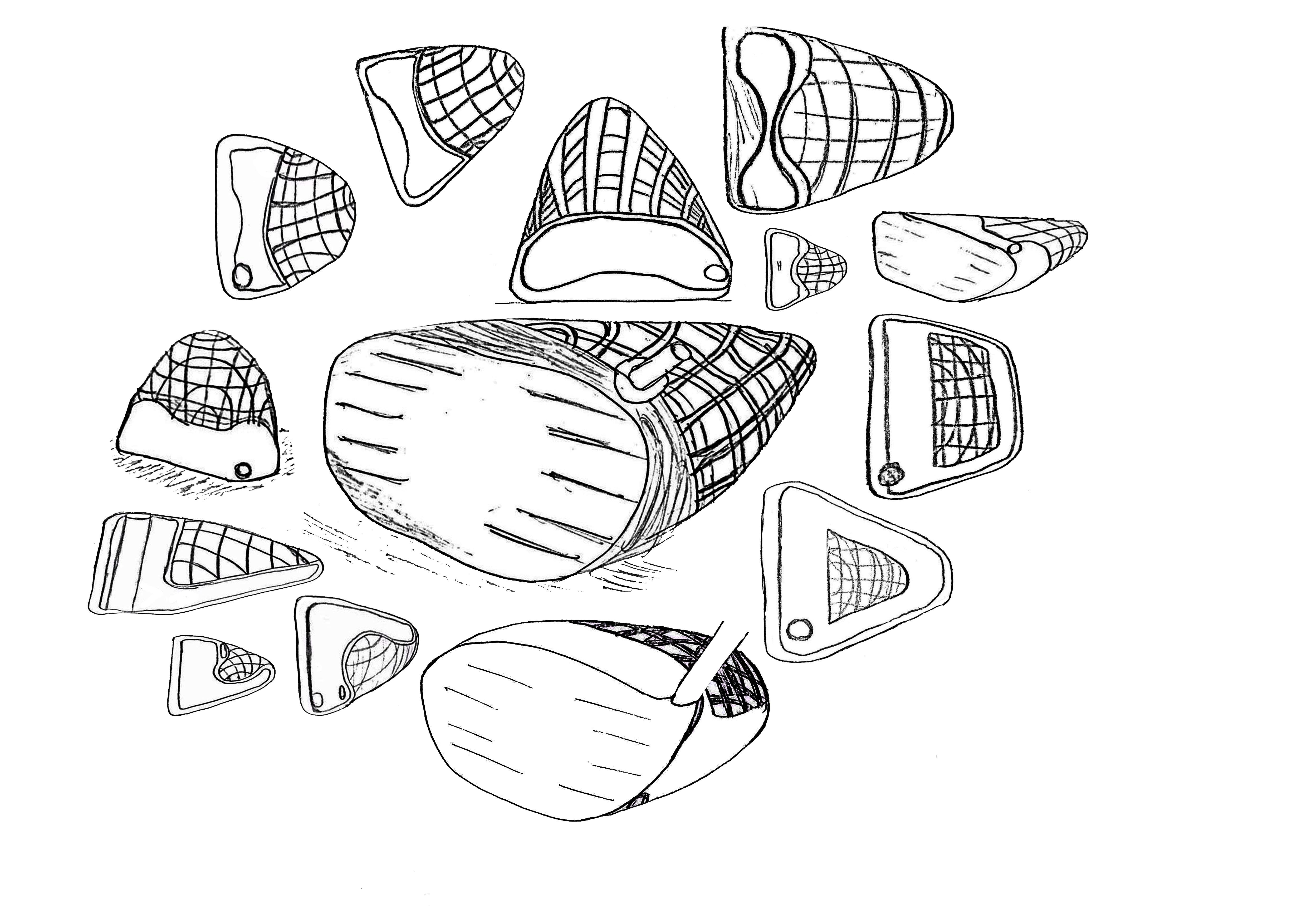 Sketches exploring lightweights