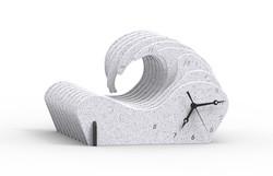 Slotted V1 render acrylic white-vein