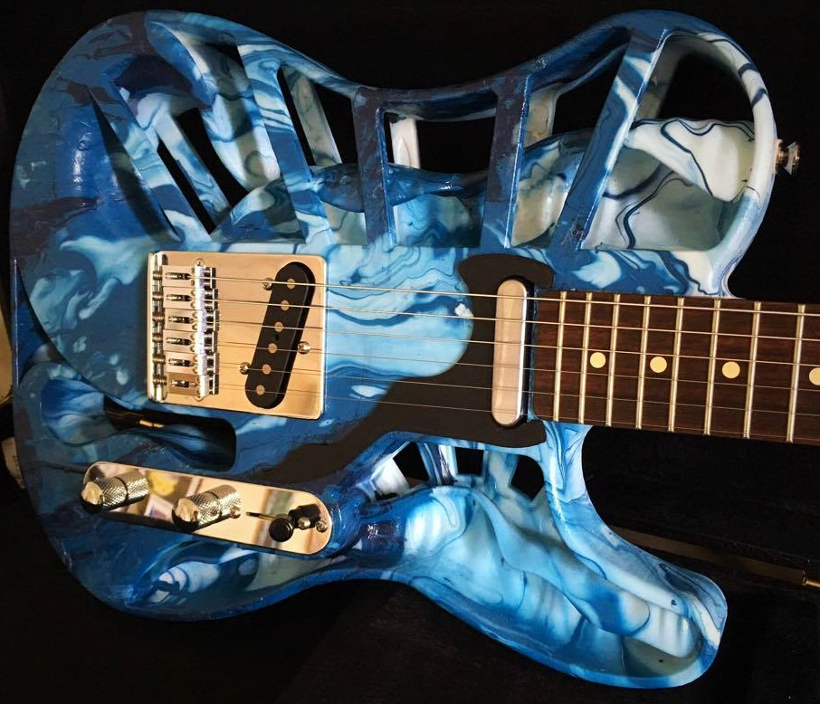 Hydro-dipped SLS Electric Guitar